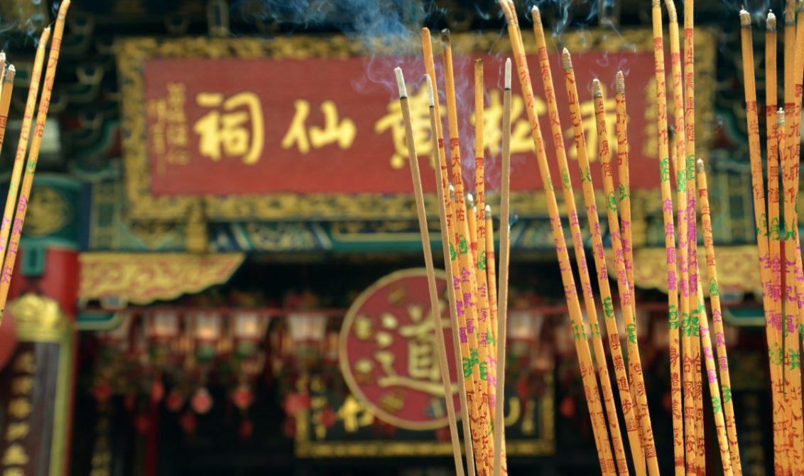 Ceremonia Incienso China