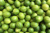 Fresh lime green fruit